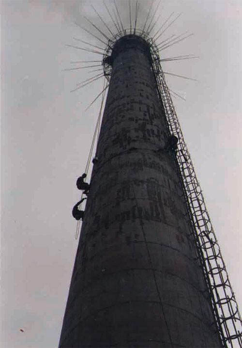 混凝土烟囱维修