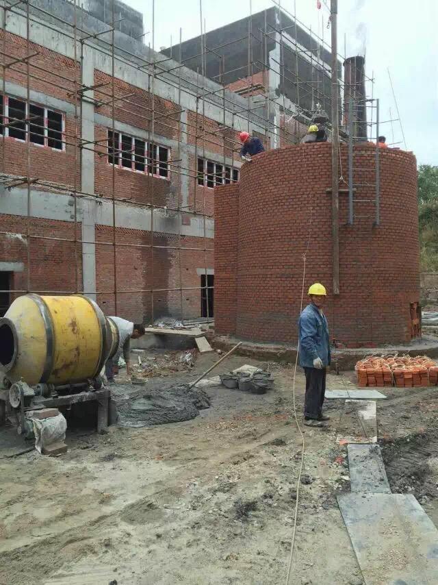 锅炉烟囱新建